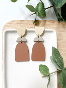 Macaron Drop Acrylic Earrings - Styled Simplicity
