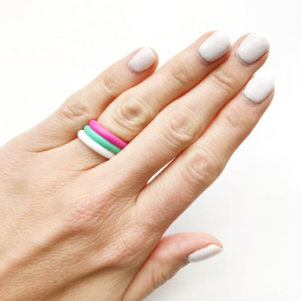 Silicone Rings Size 8 - Styled Simplicity