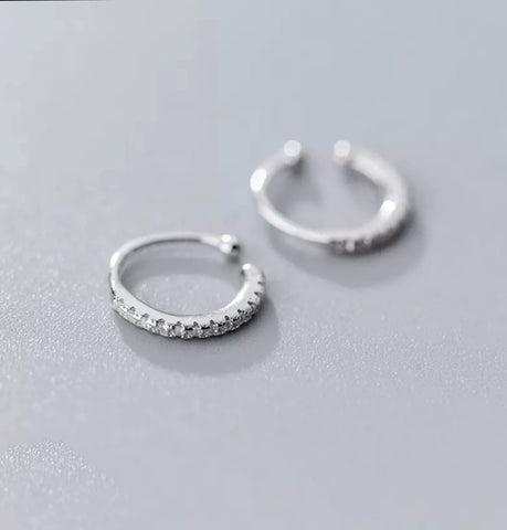 Sterling Silver Ear Cuffs - Styled Simplicity