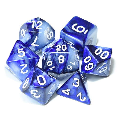 Class Dice Set - Two Tone - Dungeoneers Den