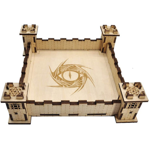Fort of the Spiral Eye - Dice Tray - Dungeoneers Den