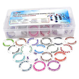 Acrylic Condition Rings 72 PCS Status Effect Markers Box - Dungeoneers Den