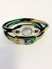 "MOJO wristband 6"" Single disc Camo"