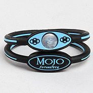 "MOJO wristband 6"" Single disc  Black and Blue"