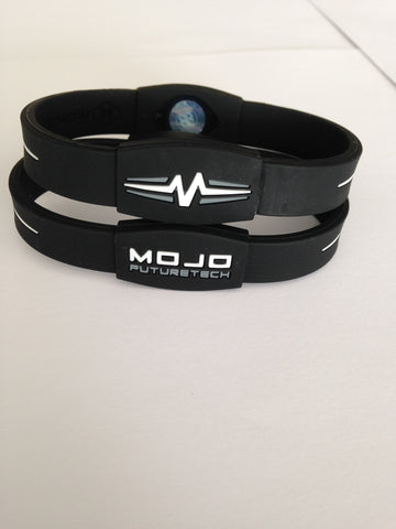 "Mojo Advantage Elite 8"" - Black / White"