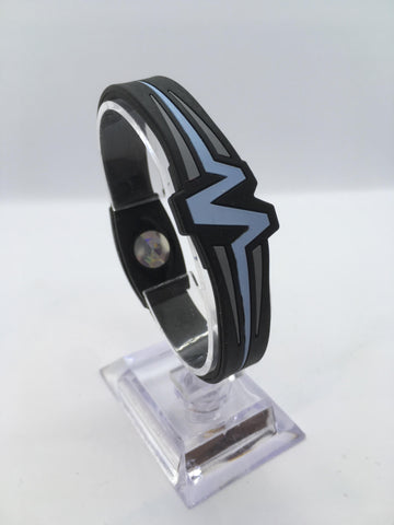 "MOJO wristband 7"" Raptor  Black and Blue"