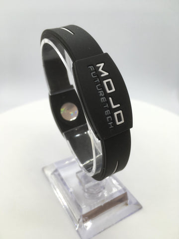 "MOJO wristband 7"" Elite  Black and White"