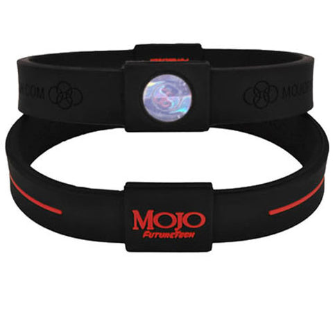 "Mojo Advantage Max 8"" - Black / Red"