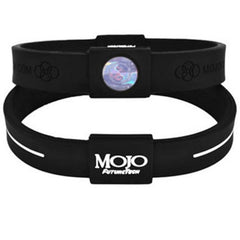 "MOJO wristband 8"" Classic Black and White"