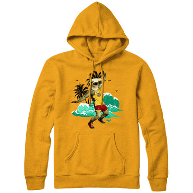 The Masked Dancer Surfer Shark Yellow Hoodie