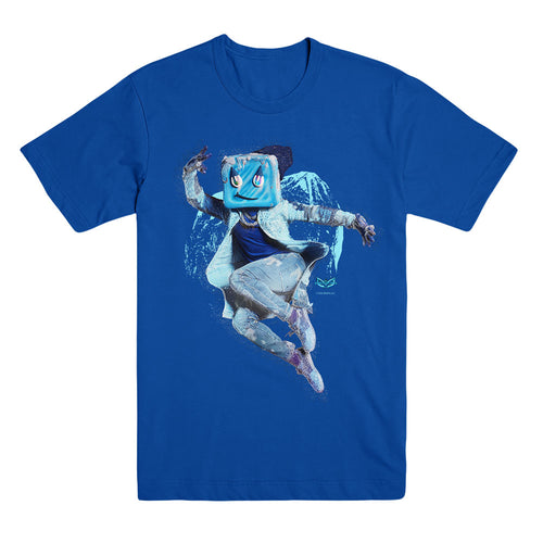 The Masked Dancer Ice Cube Royal Blue Unisex Tee