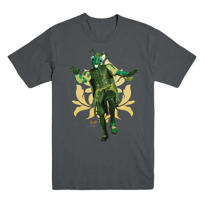 The Masked Dancer Cricket Charcoal Unisex Tee