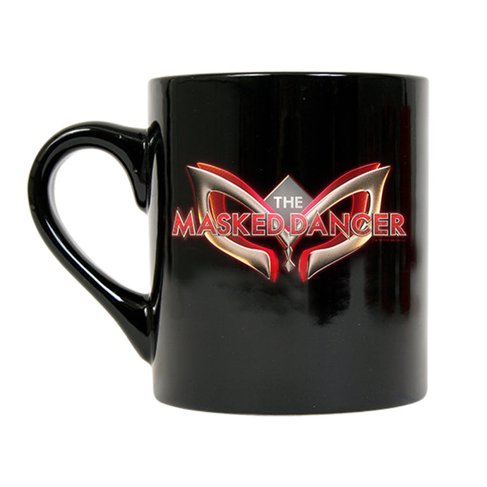 The Masked Dancer Logo Black Mug
