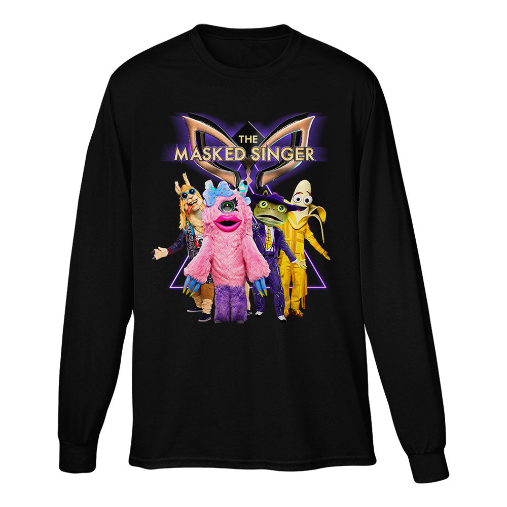 The Masked Singer Season 3 Long Sleeve Black Tee