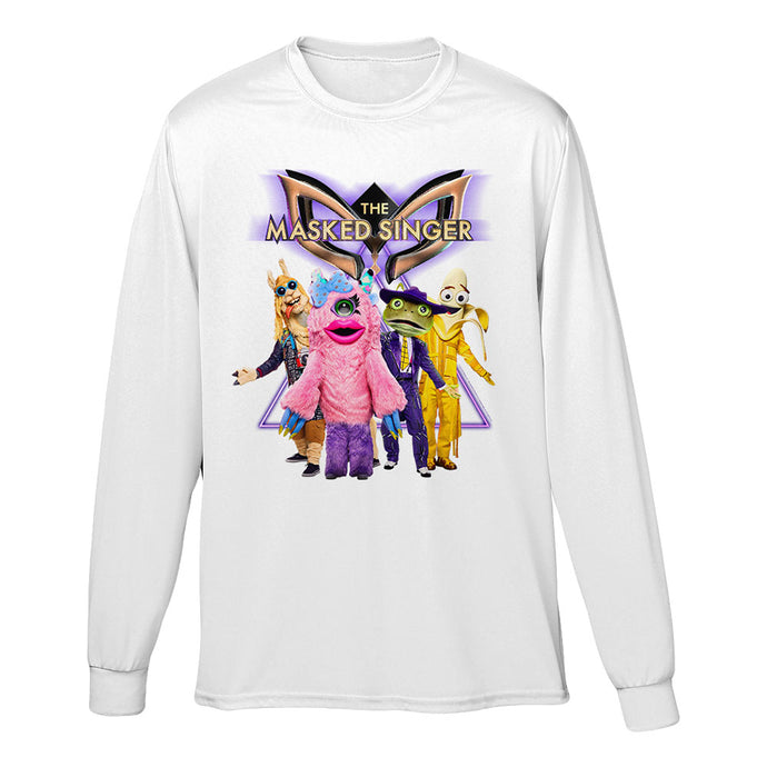 The Masked Singer Season 3 Long Sleeve White Tee
