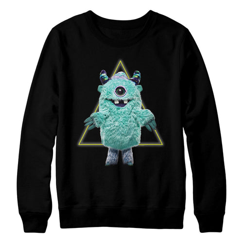 The Masked Singer Monster Crewneck Black Sweatshirt