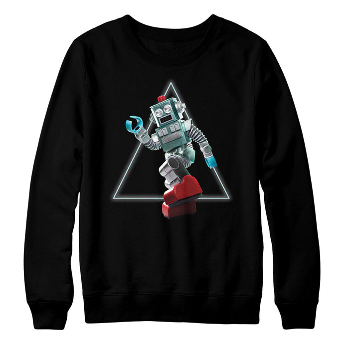 The Masked Singer Robot Crewneck Black Sweatshirt