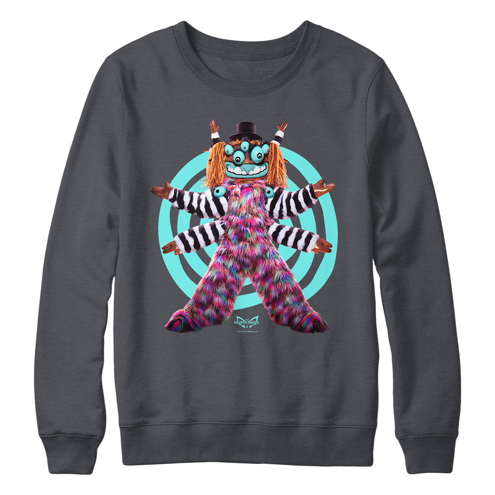 Squiggly Monster Crewneck Sweatshirt from The Masked Singer
