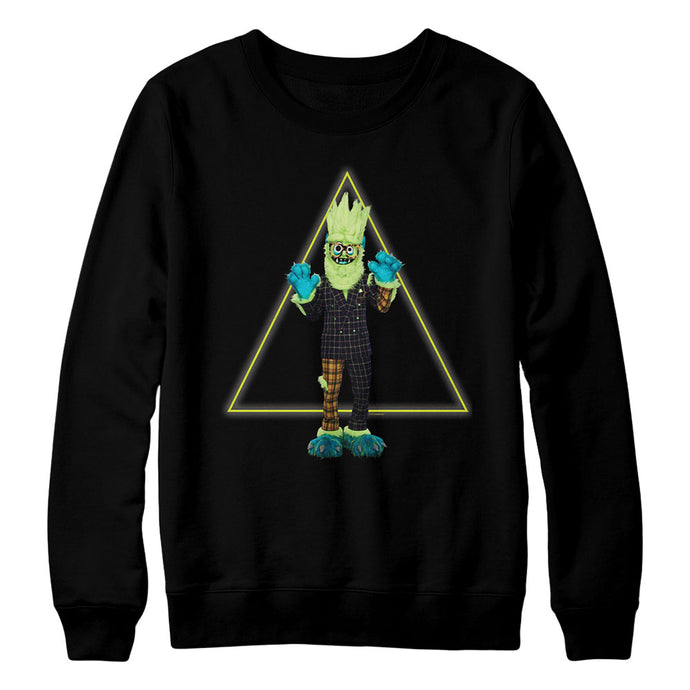 The Masked Singer Thingamajig Crewneck Black Sweatshirt
