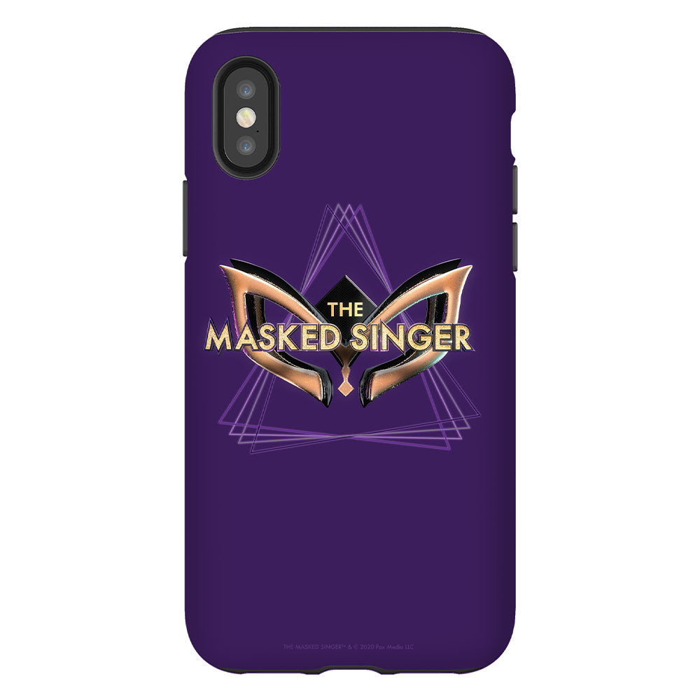 The Masked Singer Logo Purple Phone Case