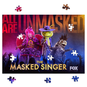 252-Piece The Masked Singer Season 3 Jigsaw Puzzle