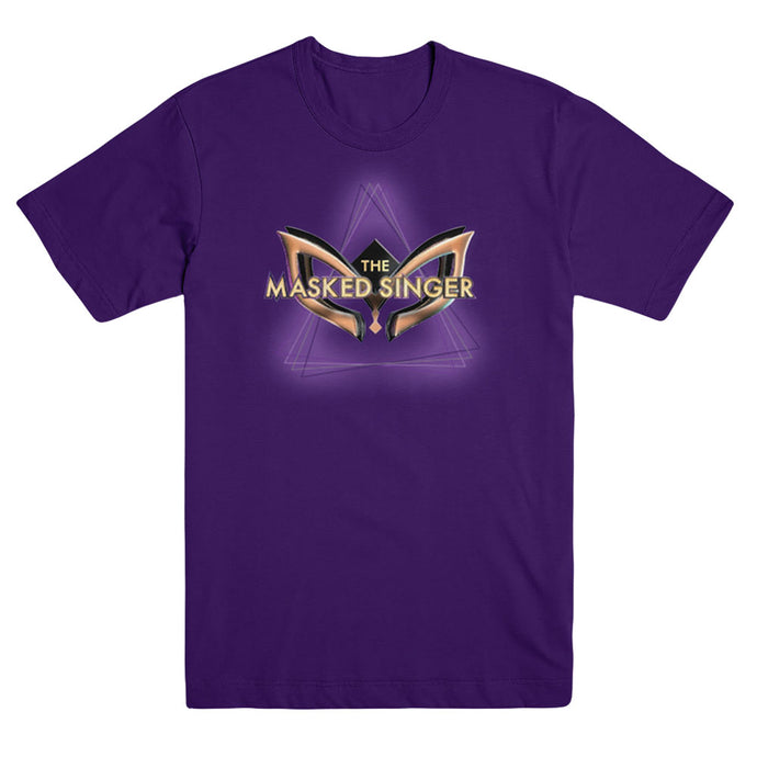 The Masked Singer Logo Youth Purple Tee