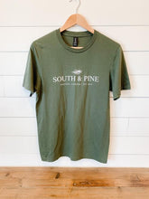 Load image into Gallery viewer, South & Pine T-Shirt - Olive
