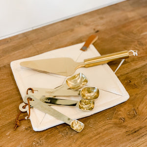 Gift Package - Gold Utensils