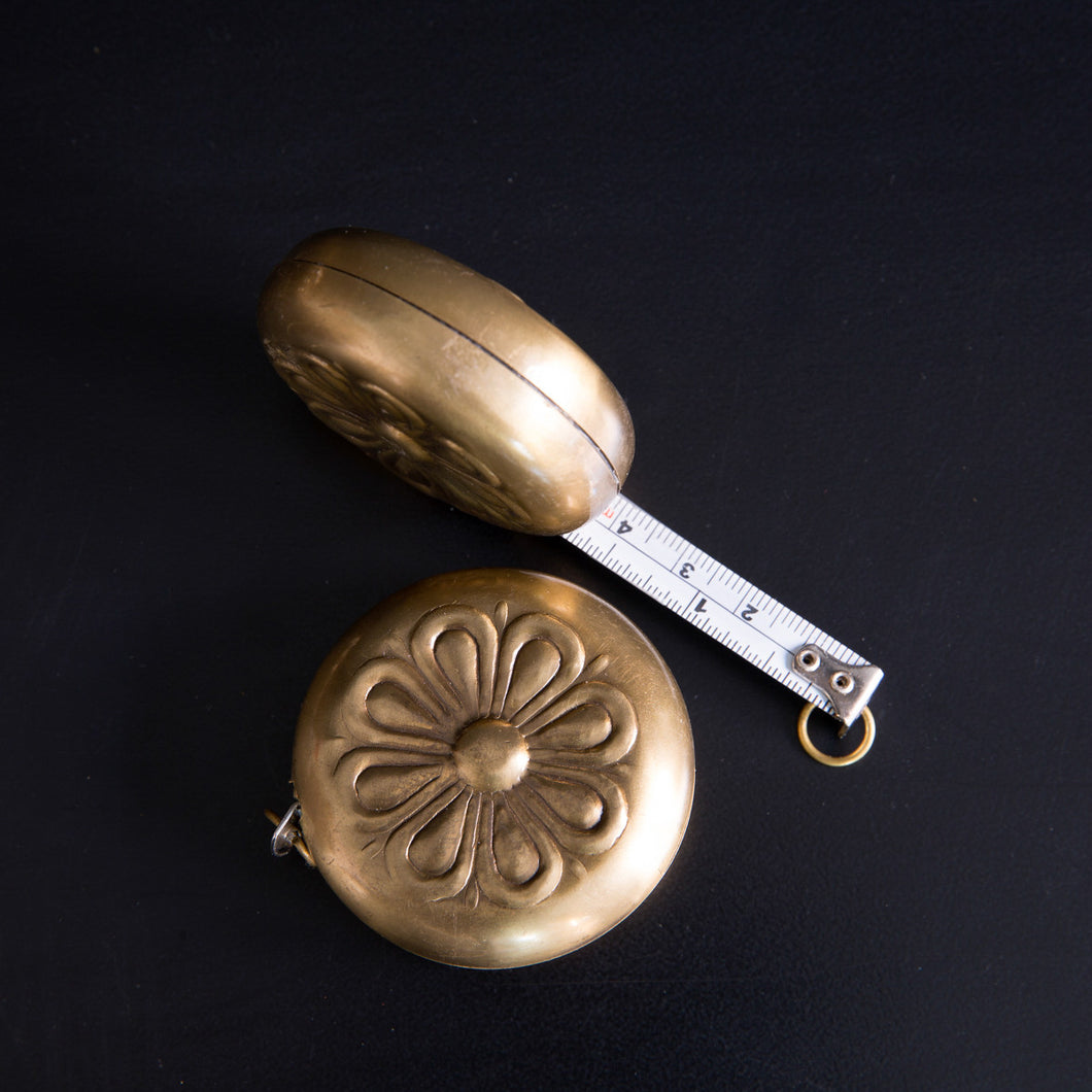 Antique Style Brass Measuring Tape