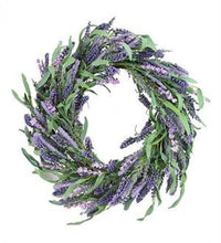 Load image into Gallery viewer, Lavender Wreath