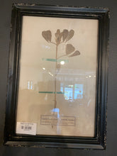 Load image into Gallery viewer, Black Framed Floral