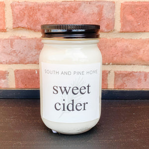 Sweet Cider - Signature Large Candle