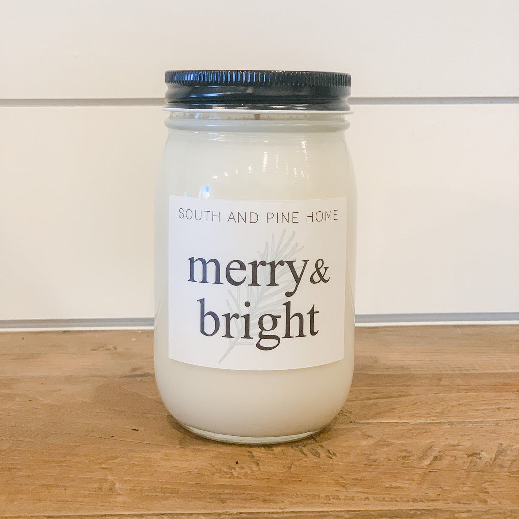 Merry & Bright - Signature Large Candle
