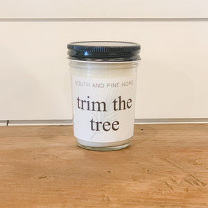 Trim the Tree - Signature Small Candle