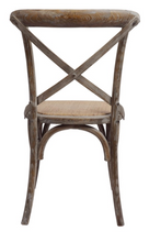 Load image into Gallery viewer, X-Back Chair - Brown