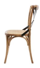 Load image into Gallery viewer, X-Back Chair - Brown/Black