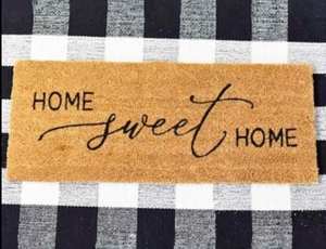 Buffalo Plaid Doormat