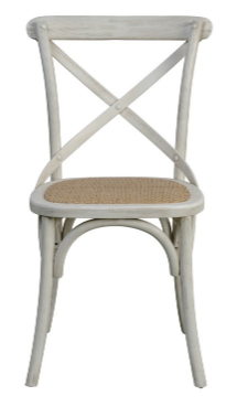 X-Back Chair - White Wash