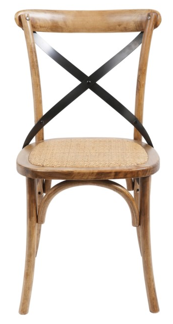X-Back Chair - Brown/Black