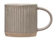 Load image into Gallery viewer, Debossed Stoneware Mug
