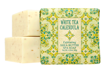 White Tea Calendula - Wrap Soap