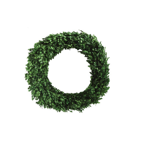 Boxwood Wreath 21.5