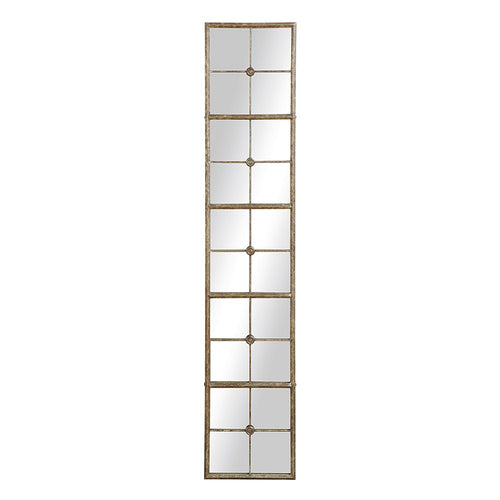 Tall Metal Framed Mirror 13.5