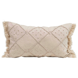 French Knot Lumbar Pillow