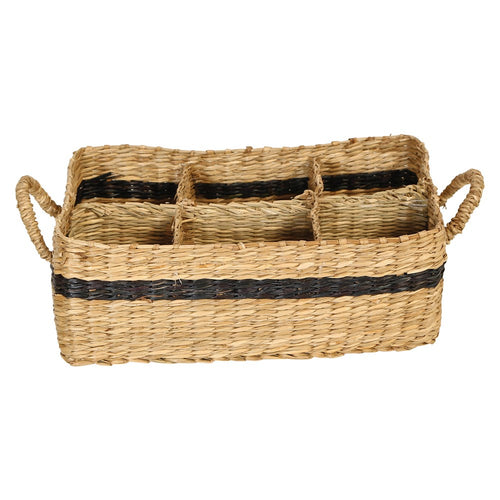 Divided Seagrass Basket