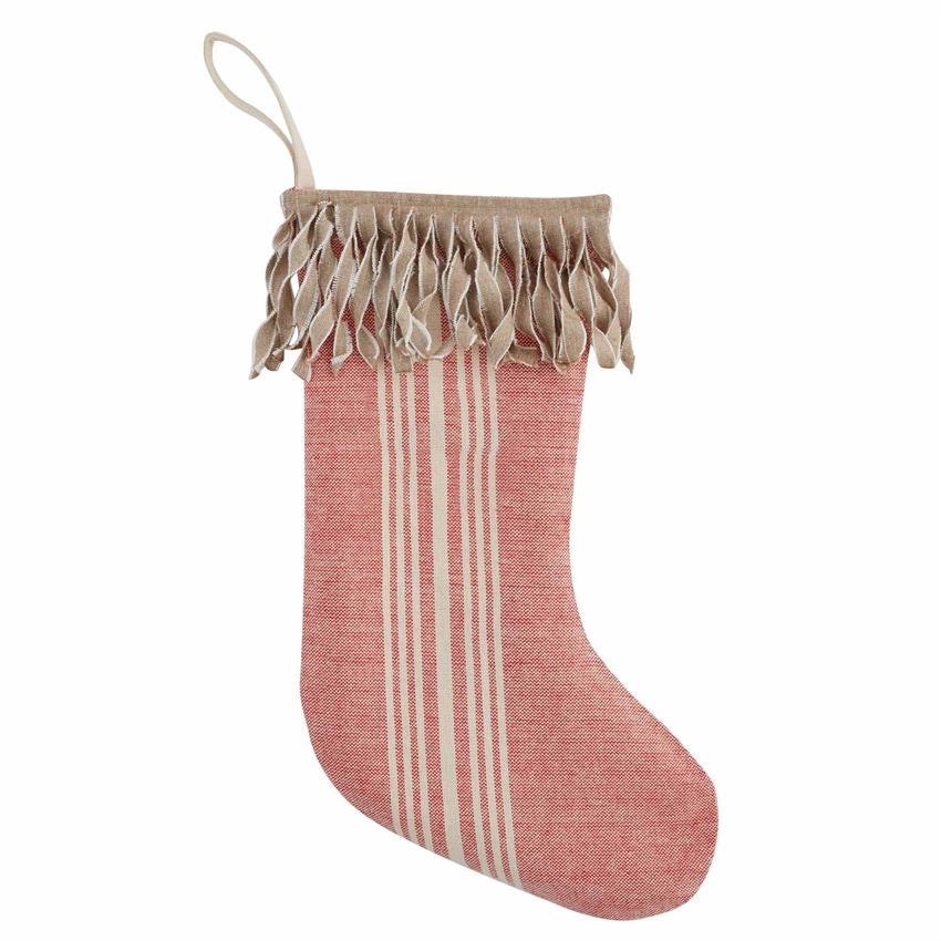 Natural Fringe Stocking