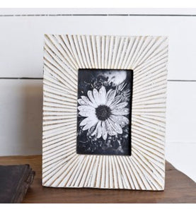 Sunburst Wood Frame