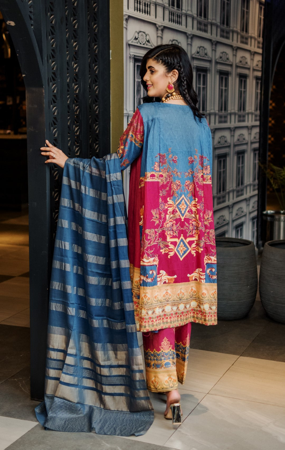 3 PIECE / SHIRT, TROUSAR, DUPATTA