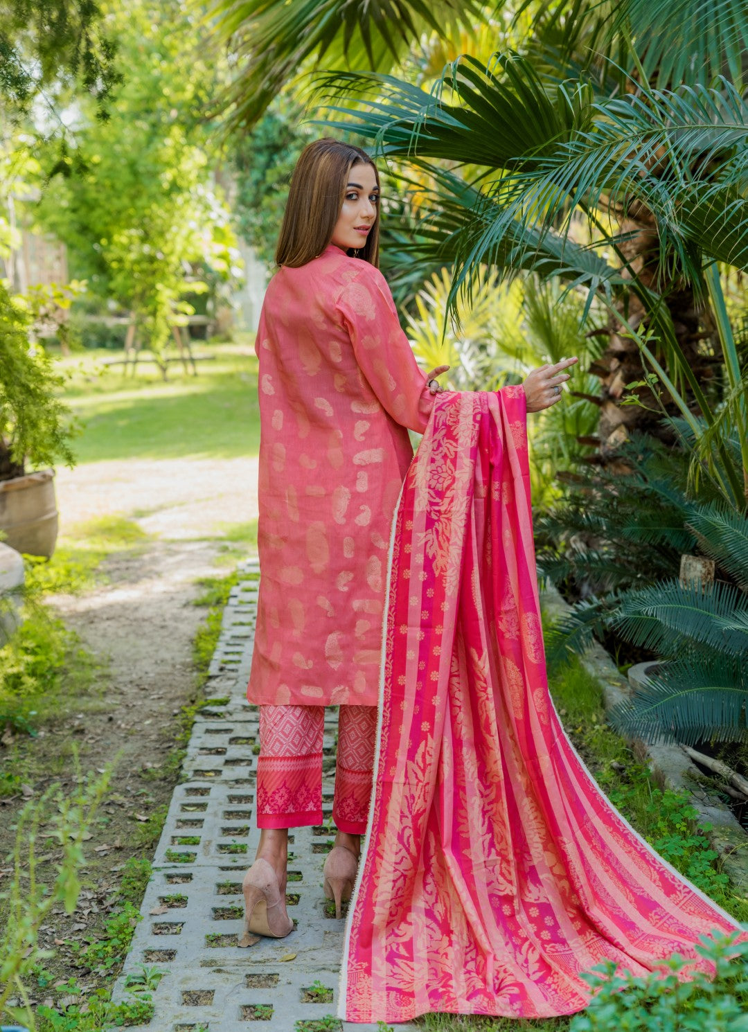 3 PIECE / SHIRT, TROUSER, DUPATTA