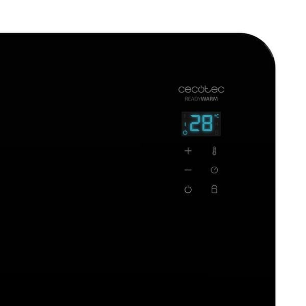 Chauffage à Convection Electrique Cecotec Ready Warm 6670 Crystal Connection 1000W WIFI V1704474